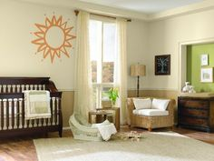 Nursery In Muslin White From The Fleetwood Paints Por Colours Range