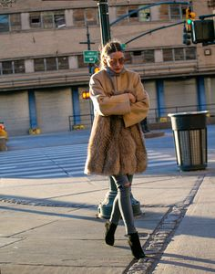 Snapped: Keeping Warm During NYFW | Olivia Palermo