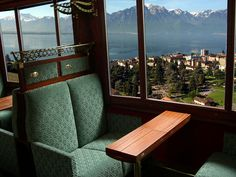 Swiss Charter Train - Carriage on the Golden Pass line | by Train Chartering & Private Rail Cars