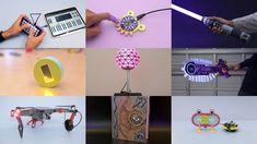 2018 3D Printing Projects @adafruit #adafruit #3dprinting @ecken @videop... Camera Slider, 3d Printing, High School, Fruit, Diy, Impression 3d, Bricolage, Grammar School, High Schools
