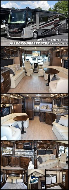 2017 Tiffin Motorhomes Allegro Breeze - - New Class A RV for sale in North Tonawanda, New York. Rv Motorhomes, Luxury Motorhomes, Class A Motorhomes, Tiffin Motorhomes, Rv Bus, Rv Campers, Camping Ideas, Outdoor Camping, Class A Rv