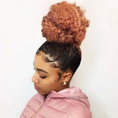 "298 Likes, 4 Comments - Next: July 7-8, 2018 (@neworleansnaturalhairexpo) on Instagram: ""#BunLife! @kienyabooker x @kaay.s_ #NONHE"""