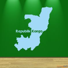 """Wandtattoo """"Republik Kongo"""" - 9,95€"""