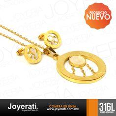Recuerda que toda nuestra joyería es de Acero Inoxidable 316L #Joyerati
