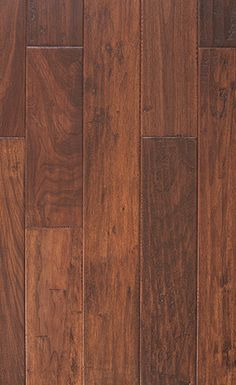 Millstead handscraped hickory cocoa 1 2 x 5 engineered for Buy unfinished hardwood flooring