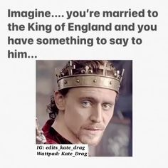 """Kate_Drag's Instagram post: """"A sweet imagine with none other than King Henry of our hearts ❤️🔥 I'm going to make one with Tom Hiddles tomorrow 🥰 Follow me for more…"""" King Henry, Tom Hiddleston, Toms, Hearts, Sweet, Instagram Posts, How To Make, Candy"""