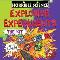 Galt Toys Horrible Science Explosive Experiments the Kit