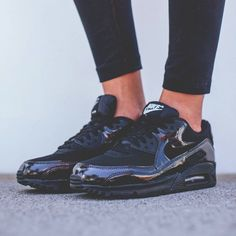 Nike Air Max 90 'Black/Black' by Nike IG Buy it @ Finishline | Nike US | SNS