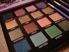 I love this Urban decay palette