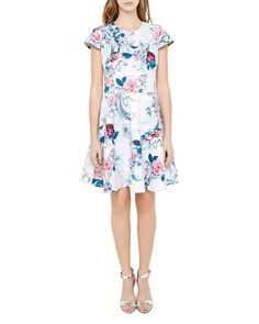 Ted Baker Keiley Acanthus Scroll Dress