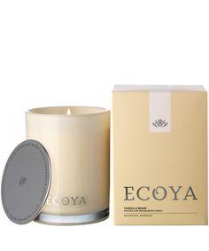 Ecoya Vanilla Bean Madison Jar Candle 400g | Scented Candles by Ecoya | Liberty.co.uk