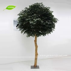 Outdoor Artificial Trees Banyan Tree Plastic Leaves Umbrella Shaped Crown BTR044 GNW