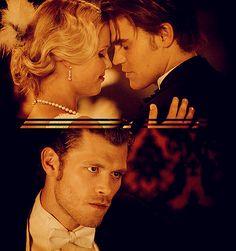 Stefan, Rebekah & Klaus