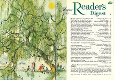 Readers Digest, Busse, Illustrations And Posters, Cover Art, Vintage Art, Tapestry, Magazines, Illustrator, Painting