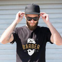 0efb681fd7b23 The Barber Barber Culture Barbershop Design Short-Sleeve