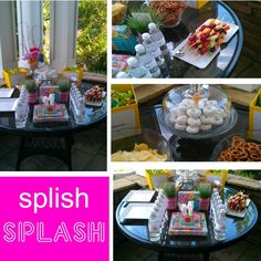 Splish Splash Swim Party Theme