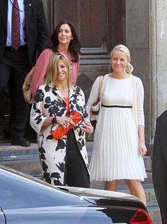 Princess Victoria and Mette Marit | Princess Mette-Marit The Swedish royal family hosts pre-wedding ...