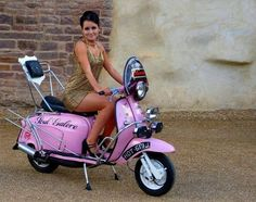 All things Lambretta & Vespa Motorbike girl's don't come close Retro Scooter, Scooter Bike, Lambretta Scooter, Vespa Scooters, Bicycle, Lml Star, Italian Scooter, Mod Girl, Motorbike Girl