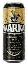 Warka Strong beer. Polish smoke lager. 6/10 pts