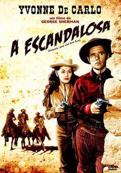 CALAMITY JANE AND SAM BASS (1948) - Yvonne De Carlo - Howard Duff - Directed by George Sherman - Universal-International - Spanish DVD cover art