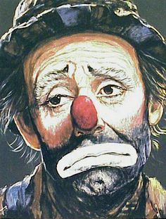 Barry LeightonJones Emmett Kelly  S/N Lithograph  by GallArt, $300.00