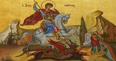 Archery Club, Traditional Archery, Byzantine Icons, New Thought, Saint George, Religious Art, Religion, Projects To Try, Princess Zelda