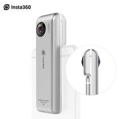 Insta360 Nano 3K HD 360 Panoramic Camera VR Camera 210 Degree Dual Wide Angle Fisheye Lens 360 Camera for iPhone 7 7plus 6s 6plu