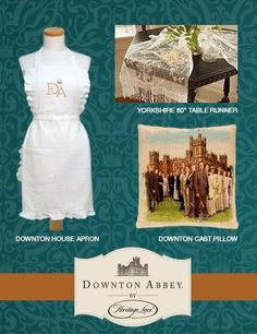 Heritage Lace's Downton Abbey Collection is To Die For