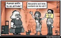 Images Fun N°8059 - Alexandre est très content !