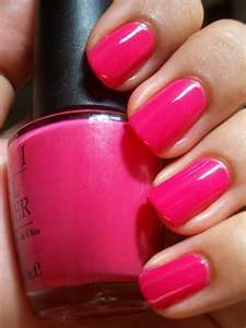 """One of my summer """"must haves"""" OPI Strawberry Margarita"""