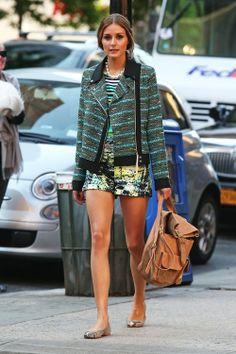 Olivia Palermo // shorts