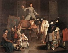 """""""The Tooth Puller"""" by Pietro Longhi, 1746"""