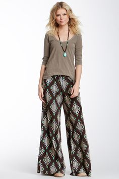 Ultra Comfy Patterned Pants and Sweater