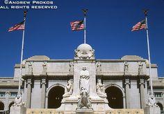 View of Union Station, Washington DC - http://andrewprokos.com