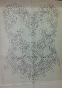 Custom Beaded and Embroidered WEDDING DRESS Bodice In Over 50