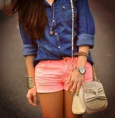 Love the shorts! amazing color!