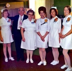 My mom became an RN in 1977! This was her uniform.