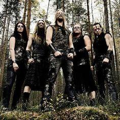Ensiferum, Finnish folk metal.