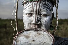 Mursi Mouthguard, by Ben McRae, Mago National Park, Ethiopia, Canon EOS 5D Mark II, EF24-70mm f/2.8L USM