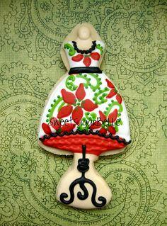 dress form cookie