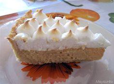 La lime pie è una tortaoriginaria della Floridapiu' precisamente delle isole Keys dove crescono i Key lime.Lo scorso week end mi è caduto l'occhio su questa ricettamentre