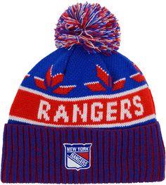 the latest da6f0 afbcf Old Time Hockey Old Time Hockey New York Rangers Dasher Pom Knit Hat. https