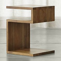 Entu Side Table - probably the wrong wood species, but the right proportions and look