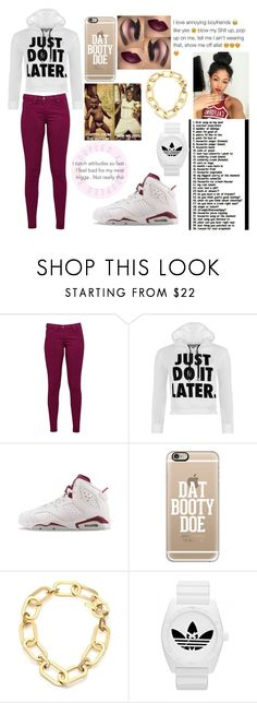 """""""Untitled #190"""" by criminalheart ❤ liked on Polyvore featuring Great Plains, WearAll, NIKE, Casetify, Michael Kors, adidas, women's clothing, women, female and woman"""