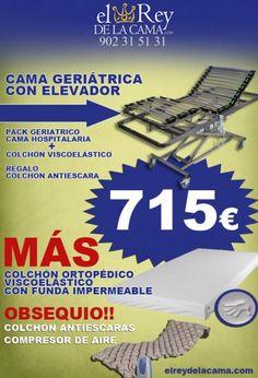 Cama geriátrica con carro elevador  #anuncios #clasificados #gratis #segundamano #Castellon #España