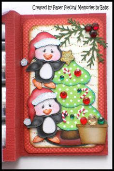 PAPER PIECING MEMORIES BY BABS: KaDoodle Bug Designs Holiday Blog Hop