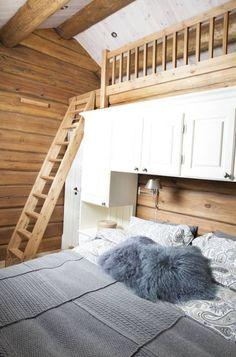 Tømmerhytte i Ringsakerfjellet 2010 | Rom for Rom Interiør AS Sweet Home, Loft, Cabin, Furniture, Ideas, Home Decor, Style, Interior Decorating, Ska