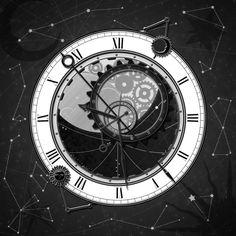 Dérivé d'une conception d'horloge astronomique