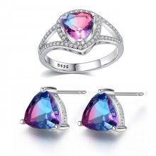 Mystic, Swarovski, Gemstone Rings, Gemstones, Jewelry, Bijoux, Jewlery, Schmuck, Jewerly