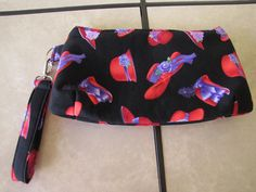 Red Hat Wristlet by KanNDesignsForYou on Etsy